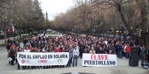 Manifestación celebrada el pasado martes