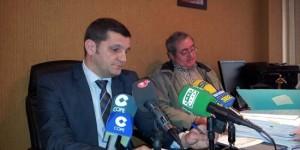Luis Javier Fernández Sánchez (izquierda) y Vicente Sánchez