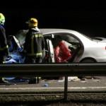 Ciudad Real: Un fallecido y dos heridos tras una colisión frontal en la autovía A-43