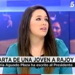 La joven de Socuéllamos que escribió a Rajoy pide en el programa de Ana Rosa Quintana la entrevista con el presidente
