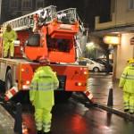 Prueba de fuego: Los bomberos tantean el bulevar de la Avenida del Rey Santo