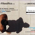 Ciudad Real: Café filosófico moderado por Rafael Robles en la Librería Birdy-Libertad