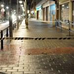 Ciudad Real: Llueven cascotes sobre el bulevar de la Avenida del Rey Santo