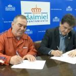 El Ayuntamiento renueva su convenio de colaboración con el Club Ciclista Daimiel