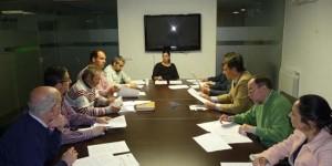 Reunión de la mesa de Fundescop (archivo)