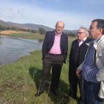 El subdelegado del Gobierno en Ciudad Real visita las zonas inundadas de Fuente el Fresno