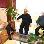 La alcaldesa de Puertollano se reúne con representantes de la Asociación de Jubilados de Ciudad Real