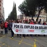Puertollano: CTI-CSI·F muestra su «satisfacción» por el apoyo a la manifestación de Solaria y anuncia más movilizaciones
