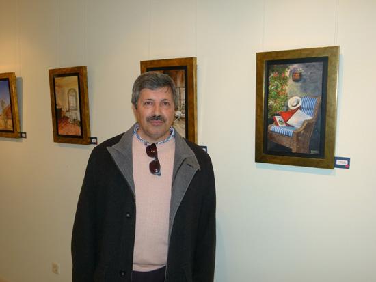pintor manzanareño Pedro FernándezArroyo Tébar presenta en la sala