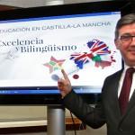 """Marín informa sobre los planes con los que la Junta pretende """"mejorar la calidad"""" de la enseñanza en Castilla-La Mancha"""