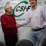 El médico ciudadrealeño José García es reelegido presidente autonómico del sector de Justicia de CSI·F