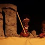 Títeres guerreros, este domingo en el Teatro de la Sensación