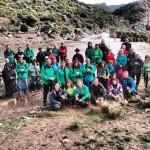 Puertollano: El Club Pozo Norte se adentró en territorio lince en la ruta por el parque natural de Cardeña