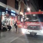 Ciudad Real: Los bomberos sofocan un pequeño incendio en la calle Ramón y Cajal