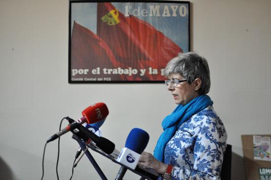 Carmen Soánez, concejala de IU