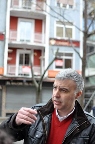 Pedro Martín, concejal de Urbanismo