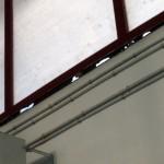 Ciudad Real: Clausuran el gimnasio del Colegio Ferroviario ante el riesgo de desprendimiento de los ventanales