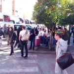 """Puertollano se convierte en """"base de emergencia"""" para el traslado de viajeros tras el incendio en un túnel de la vía del AVE"""
