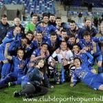 Un CD Puertollano digno de Segunda B barre al Pontevedra en la ida de la eliminatoria de ascenso