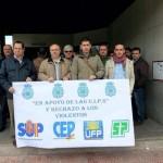 Ciudad Real: La Policía Nacional se manifiesta en apoyo de las unidades de intervención en los incidentes del 22M