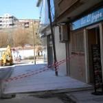 El Ayuntamiento de Puertollano da licencia al hotel Santa Eulalia para ampliar la acera de la calle Ave María y dejar un solo carril de circulación
