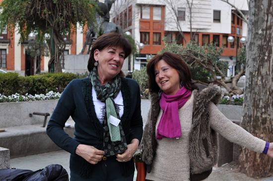Ángela Sanroma y Charo Tapia