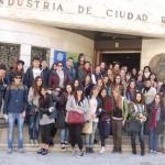 Ciudad Real: 50 alumnos del Instituto Atenea visitan la Cámara en una nueva Jornada de Puertas Abiertas al Emprendimiento