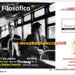Ciudad Real: Birdy sirve un nuevo café filosófico en el que se debatirá sobre la desobediencia civil