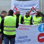 Ciudad Real: Los conductores de la Junta inician nuevos paros para tratar de forzar la reanudación de las negociaciones