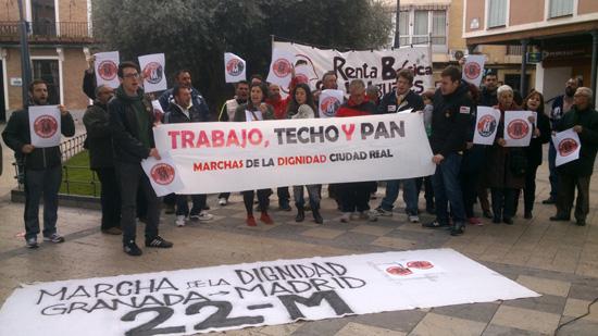 14 de marzo: Marchas de la Dignidad en Daimiel