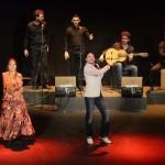 """Argamasilla de Alba: Jaime """"El Estampío"""" y Asami Ikeda pintan de flamenco el centenario del Greco"""