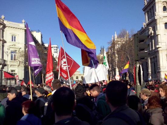 Marchas de la Dignidad - 22M de 2014 en Madrid