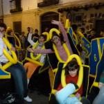 Manzanares: Las máscaras llenaron el domingo la calle Empedrada