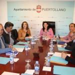 """La """"Mesa de alcaldes"""" de la comarca de Puertollano firma una declaración para exigir """"industria y trabajo"""" a las administraciones públicas"""