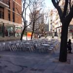 La remodelación de la Plaza Cervantes comenzará después de Semana Santa: se «reordenarán elementos» e inyectará cemento para reforzar el firme