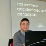Ciudad Real: El profesor Josu Mezo ofrece a los lectores de prensa pautas para advertir informaciones erróneas