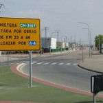 Manzanares: La calle D del Polígono Industrial, incluida en las obras de mejora de la carretera de Alcázar