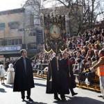 Récord en Herencia con 40 grupos y más de 2.500 participantes en el Desfile del Día del Ofertorio