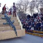 Espectacular Desfile del Ofertorio de Herencia