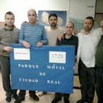 Ciudad Real: Los conductores comienzan un encierro indefinido en el edificio de Servicios Múltiples de la Junta de Comunidades