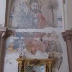 Moral de Calatrava: Halladas pinturas del siglo XV durante la remodelación de la iglesia de San Andrés Apóstol