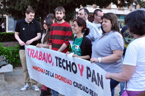 20 de marzo: rueda de prensa de las Marchas de la Dignidad
