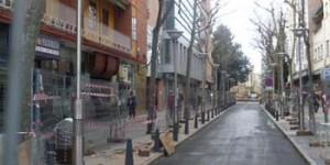 Avenida del Rey Santo (en obras, foto de enero de 2014. Ya finalizaron dichas obras)