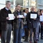Ciudad Real: Los trabajadores del Registro Civil se concentran contra la privatización del servicio y en defensa de sus puestos de trabajo