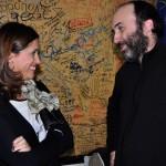 La alcaldesa de Ciudad Real asiste al estreno de la obra «La Pasión» de la compañía Narea