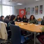 Un grupo de emprendedores de Villamanrique visitan el vivero de empresas de AJE Ciudad Real