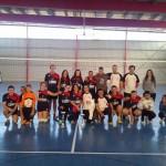 Concluye la primera liga local mixta de voleibol de Aldea del Rey
