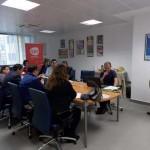Ciudad Real: Los fundamentos del marketing digital para pymes centran un café temático en el vivero de empresas de AJE