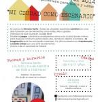 Ciudad Real: Talleres Arquinautas programa durante la Semana Santa un campamento urbano sobre arquitectura