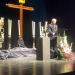 Jesús Rodríguez-Manzaneque pregonó la Semana Santa criptanense con una disertación vivencial y religiosa